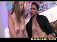 Lia Ezra meets New Stepdad