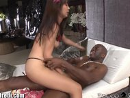 RoccoSiffredi Tiny Asian Rides HUGE Black Member