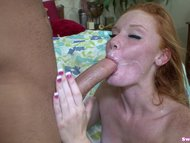 Alex Tanner LOVES Chad White and fucks him vigorously and swallows his cum
