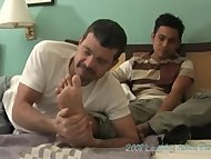 Enrique's Feet - Mike and Enrique