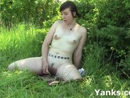 Brunette Artemis Toying Her Pu
