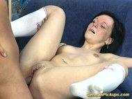 German Slut photographed in big drilling