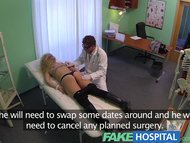 FakeHospital Cheating blonde sucks and fucks after striking a fast surgery