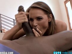 MileHigh Tori Black gets Dicked by a Big Black Cock