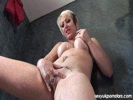 Sexy blonde MILF Tracy Venus f