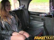 FakeTaxi British babe with big tits fucks in public