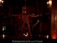 Hostile bondage punishment for a slave girl