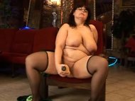 Big dildo for a big woman