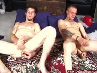 Amateur straight twinks with big toys