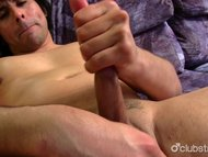 Straight Guy Derek McKenzie Masturbating