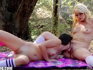 WebYoung Teen Lesbian Pussy Picnic
