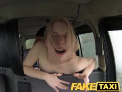 Blowjob British Camera video: FakeTaxi Horny customer calls taxi bluff