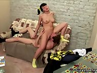 Tricky Old Teacher - Hot black-haired young chick