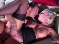 Britney Amber Fucks A Lucky Guy