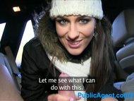 PublicAgent Mia fucks a fan in his car for cash