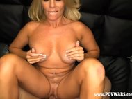POV Wars Mature babe fucked by 5 guys in a row guy-1
