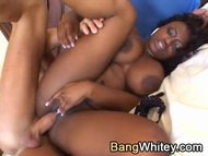 Interracial anal with black girl
