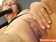 Iva stuffing her hungry mom muff