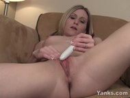 Small Breasted Maddie Vibrating Her Clit