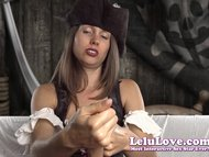 Lelu Love-Female Pirate Rough Dildo Handjob