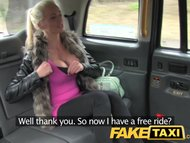 FakeTaxi Finland beauty with t