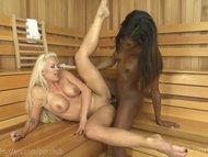Steamy Sauna Stranger Sex
