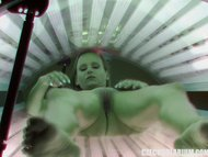 Amazing Hot Teen in Solarium
