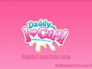Daddy Delivers Facial Cumshot Compilation