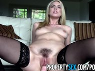PropertySex - Gorgeous blonde