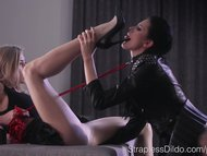 Submissive Scarlett Always Comes Up Tails