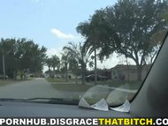 Disgrace That Bitch - Fucking in a slutty neighborhood