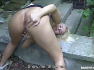 Bitch STOP - Perfect fucking with horny blonde