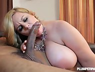 Slutty Curvy MILF Tiffany Blake Picked up and Fucked by BBC