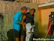Two Ghetto Gay Couple Extremely Fucking