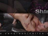 Amazing upskirt foot lover masturbation scene by Sandra Shine