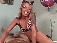 Sexy Slut POV Birthday Handjob