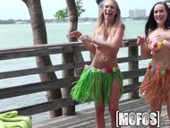 Mofos - Grass skirts and water squirts
