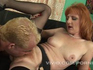 Horny and hairy MILF gets her fantasies fulfilled