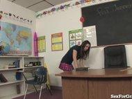 Slutty Student Fucking 2 Teachers!!