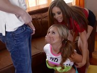 EvilAngel Pigtailed Teen Ass Fucked by LeWood