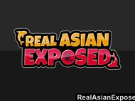 RealAsianExposed Cute Asian Teen Strips And Masturbates