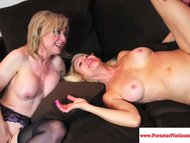 erica lauren and nina hartley share.