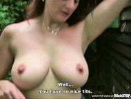 Bitch STOP - Busty hooker Michala fucked outdoor