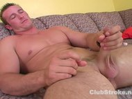 Muscular Straight Guy Danny Masturbating