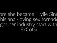 XCLUSIVE FULL VID: Kylie Sinner All-Anal Porn Debut on ExCoGi