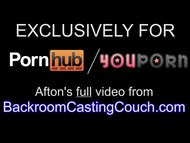 Afton BRCC Anal & Creampie Casting - Full Video