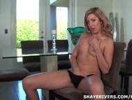 Babe Shaye Rivers Masturbates & Makes Creamy Mess