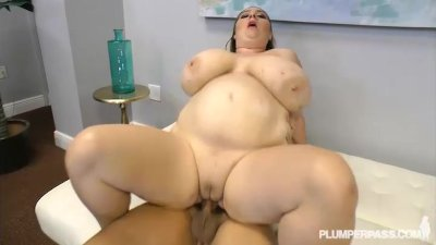 Big Tit Big Belly BBW MILF Gets Fucked By Stranger