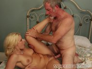 Wicked - Anikka Albrite fucks older man