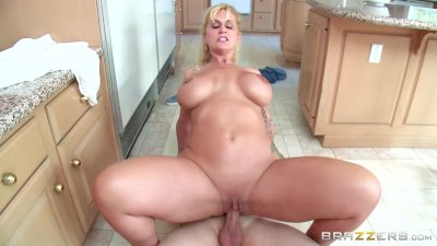 Brazzers - Stepmom takes some